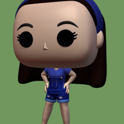 23443.PNG Download STL file girl funko style • 3D printing model, Ink3D