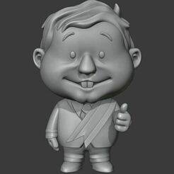 Captura.JPG Download STL file president of mexico andres manuel lopez • 3D print design, Ink3D