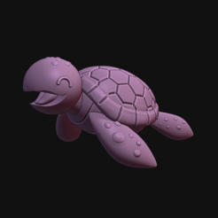 213.PNG Descargar archivo STL little turtle • Objeto imprimible en 3D, Ink3D