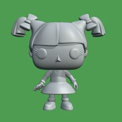 2.JPG Download STL file Funko Angelica Pickles - Rugrats • 3D print object, Ink3D