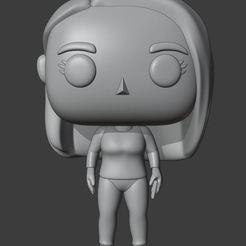 Captura.JPG Télécharger fichier STL Femme Funko sur mesure - D2 • Plan à imprimer en 3D, Ink3D