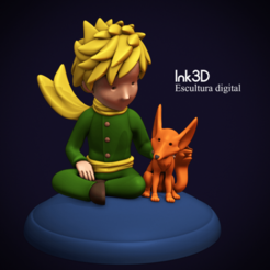 89722667_227056078441215_5170070928419192832_n.png Download STL file Little prince • 3D print object, Ink3D