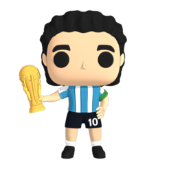 RENDER.png Download STL file Funko Diego Maradona - D6 • 3D printer model, Ink3D