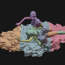 213.PNG Download STL file Zombie nornas • 3D printable model, Ink3D