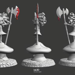 Télécharger modèle 3D Déteste le pays des fées Gertrude, Ink3D