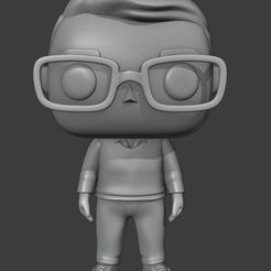 Captura.JPG Download STL file Customized Funko Man - D1 • 3D printing template, Ink3D