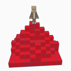 Annotation 2020-08-03 180949.png Download free STL file Minecraft Mountain World • 3D printable design, david0arnaud