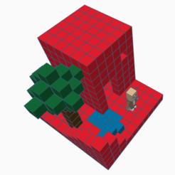Download 3D printer designs Minecraft world, david0arnaud