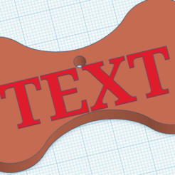Annotation 2020-08-25 151302.png Download STL file dog tag • 3D printing model, david0arnaud