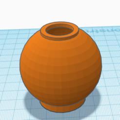 Télécharger fichier STL vase rond • Modèle imprimable en 3D, david0arnaud