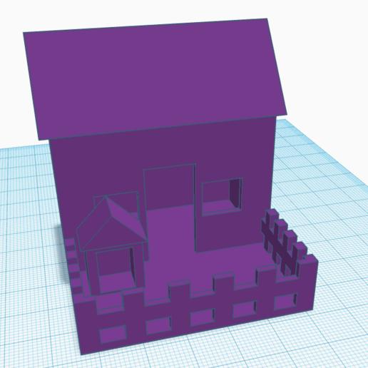 Annotation 2020-08-09 111303.png Télécharger fichier STL gratuit petit maison • Objet pour imprimante 3D, david0arnaud