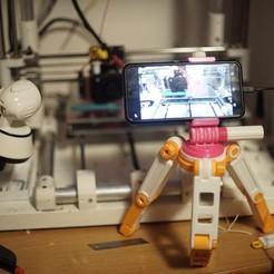 Modèle 3D gratuit Smartphone tripod, studiogambarota