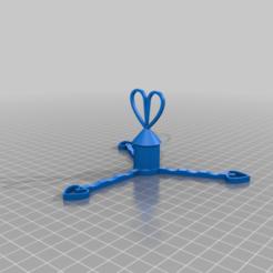Download free 3D printing designs Rotating jewelry holder ( Porte bijoux rotatif ), Aliasze13