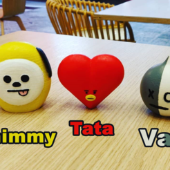 Download 3D printer designs BT21 - Van, 3ddados