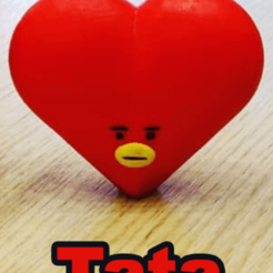 tata.png Download STL file BT21 - Tata • 3D printing template, 3ddados