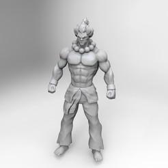 Imprimir en 3D akuma gouki, carlos70