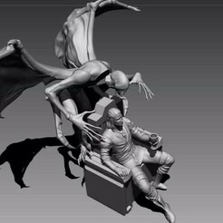 Foto 01.jpg Download STL file The Witcher, DLC Blood And Wine • Model to 3D print, cleitonguedescursos
