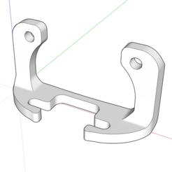 4mm_fan_mount_for_bltouch.png Download free STL file BLTouch 40mm Fan Mount for Hydra Fan Duct • 3D print object, flickeringsight
