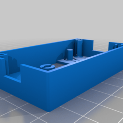 top-v2.png Download free STL file Banggood LM2596 Box with 2040 Extrusion Mounts • 3D printing model, flickeringsight
