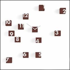Time wenge.jpg Télécharger fichier OBJ CLOCK-07 • Modèle pour impression 3D, mojtabaheirani