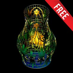 Download free STL Vase 3D Model, mojtabaheirani