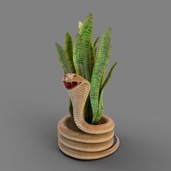 preview1.jpg Download OBJ file Snake Pot • 3D printing object, mojtabaheirani