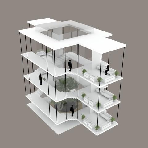 3D printing model stair, mojtabaheirani