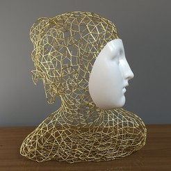 3D printer files modern sculpture, mojtabaheirani