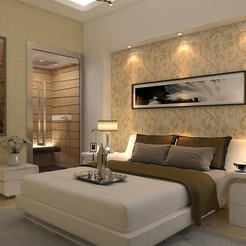 Download 3D printing models BEDROOM INTERIOR DESIGN, mojtabaheirani