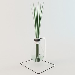 Download STL files 3D Grass In Lamp model, mojtabaheirani