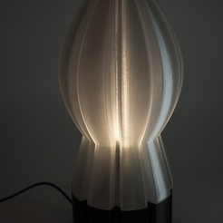 Download 3D print files Rocket Lamp, mojtabaheirani