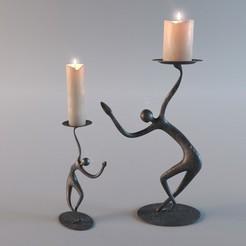 1(1).jpg Download free OBJ file Candlestick • 3D print design, mojtabaheirani
