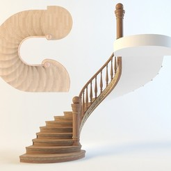 3D printing model stair, mojtabaheirani