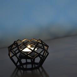 p1.jpg Télécharger fichier STL gratuit BOUGEOIR - 05 • Objet imprimable en 3D, mojtabaheirani
