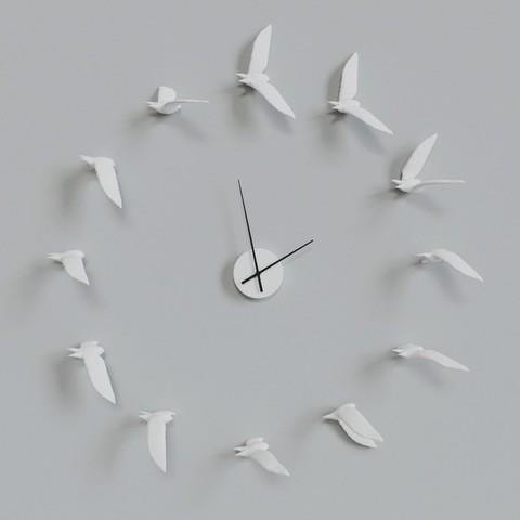 STL DECORATIVE WALL CLOCK, mojtabaheirani