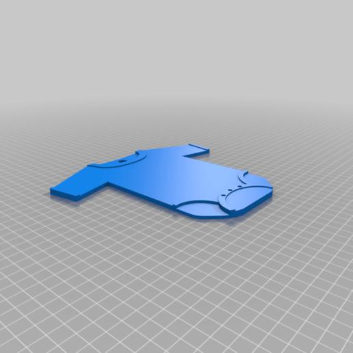 Télécharger fichier imprimante 3D gratuit Body de naissance porte clé, Tom_le_Belk