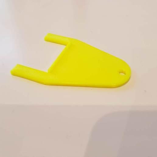 Download free 3D printer designs Key for resetting manual emergency exit release, Tom_le_Belk