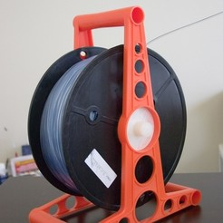 Download free 3D printing files Spindle for 5lb spool, Plonumarr