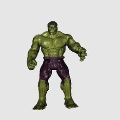 Download free 3D printing files Hulk, Plonumarr