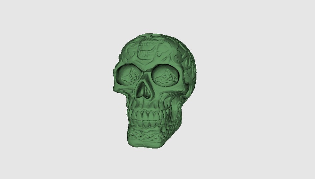 5f8729ccf52c8c186ee8c03f8ee59fb6_display_large.jpg Download free STL file Celtic Skull • 3D printer template, Plonumarr