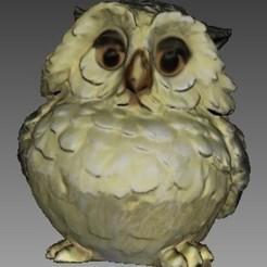 Free 3D printer model Owl, Plonumarr
