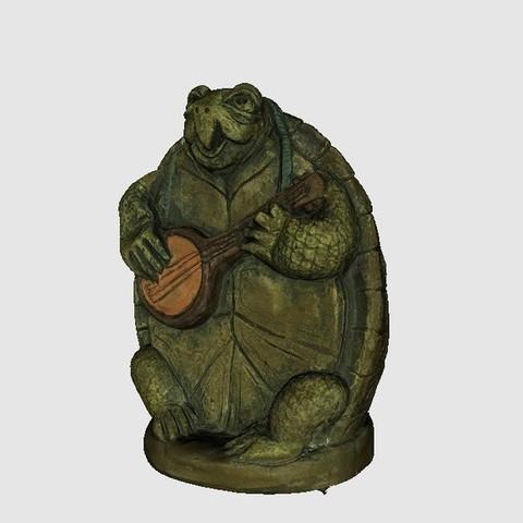 Download free 3D printing templates Turtle, Plonumarr