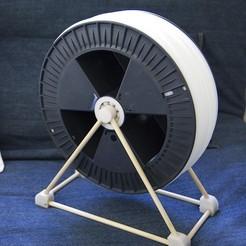 Descargar modelo 3D gratis Porta bobinas de rodamientos, Rowynolon