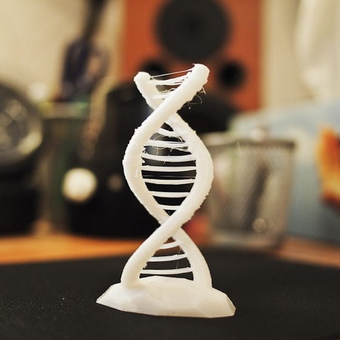 Download free 3D printing models Double helix challenge