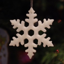 Free 3D model Christmas snowflake decoration, Rowynolon