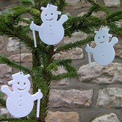 snowmen_display_large_display_large.jpg Download free STL file Snowman • Object to 3D print, Rowynolon