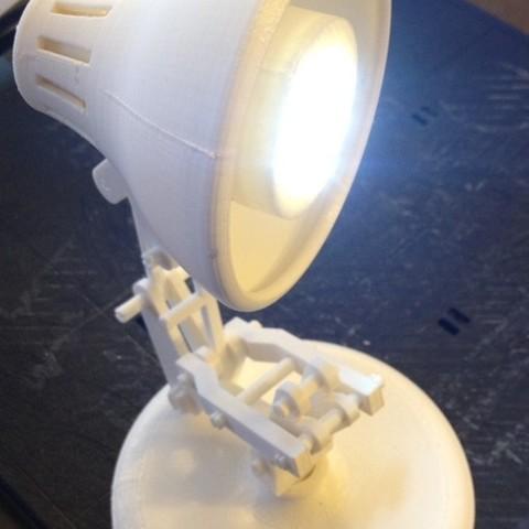 Télécharger STL gratuit Mini lampe à encliqueter - Lampe à encliqueter - Light Attachment, Bolog3D