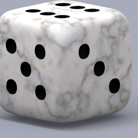 Download free 3D printing files Dice (6-sided Die), Bolog3D