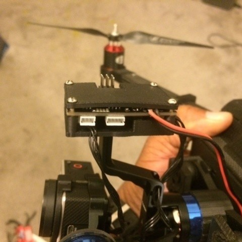 Download free 3D print files Tarot T-2D Gimbal Board Mount  (Alternative), Bolog3D