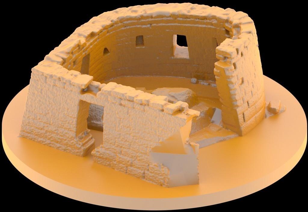 0001_display_large.jpg Download free STL file Ruins of Machu Picchu - Temple of the Sun • 3D print model, Bolog3D